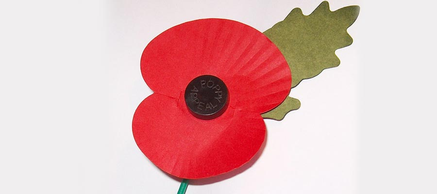 Poppy Day and Remembrance Sunday